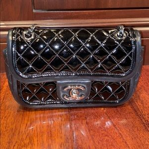 Chanel patent Lambskin mini bag